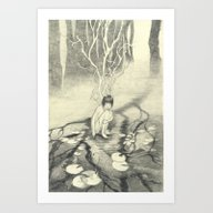 The Ghosts Of Trees Art Print