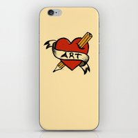 In love with Art iPhone & iPod Skin