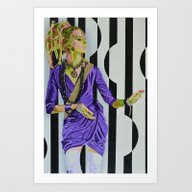 Art Print featuring Psychedelic Certainty by Gerrie Krüger