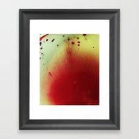 Rosacea Framed Art Print