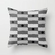 Pulsing Divide Throw Pillow