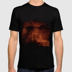 Hold back the nightmare... Mens Fitted Tee Black SMALL