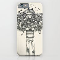 iPhone & iPod Case featuring My beard... an amazing thing by Carlos Rocafort