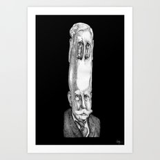 Scans to Pencil - 2 Art Print