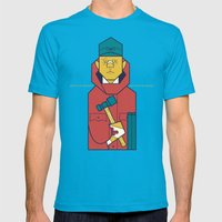 Fargo Mens Fitted Tee Teal SMALL