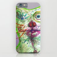 iPhone & iPod Case featuring Dirty Bear by Torao