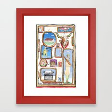 Pictures Framed Art Print