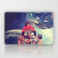 Space Breakfast Laptop & iPad Skin