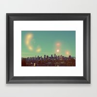 I Dream of Vancouver Framed Art Print