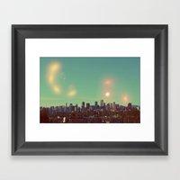I Dream Of Vancouver Framed Art Print