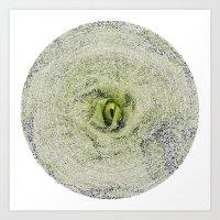ArcFace - Radicchio Verd… Art Print