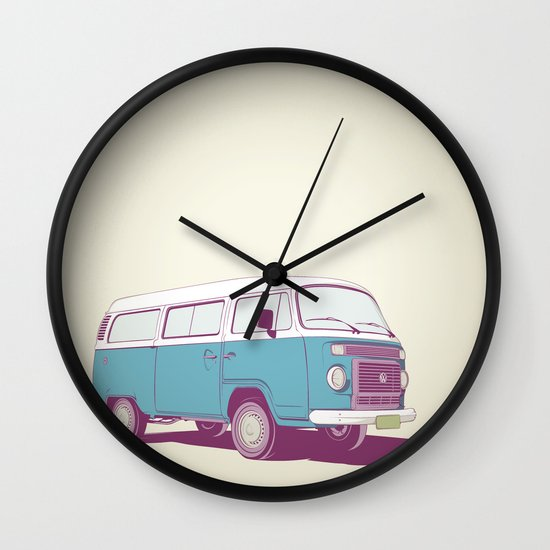 VW Combi v.02 Wall Clock