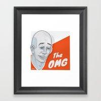 The OMG Framed Art Print