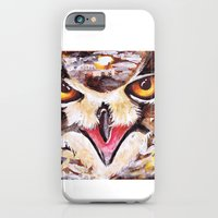iPhone & iPod Case featuring Owl by heatherinasuitcase