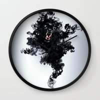 Ink Panther Wall Clock
