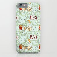 PIZZA & FRIES iPhone 6 Slim Case