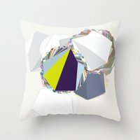 ‡ R ‡ Throw Pillow