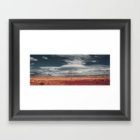 NEW MEXICO DROP POINT Framed Art Print