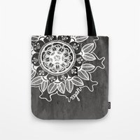 Vegan Mandela drawing Tote Bag