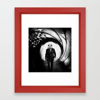 Sky Wars Framed Art Print