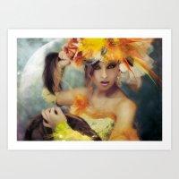 Elysa Art Print
