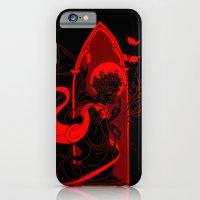 iPhone & iPod Case featuring Beati Vespertilionem: Red by JoJo Seames