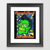High Voltage Framed Art Print