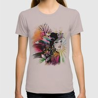 Colorful Nature Womens Fitted Tee Cinder SMALL