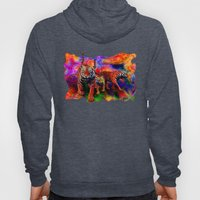 Psychedelic Tigers Hoody