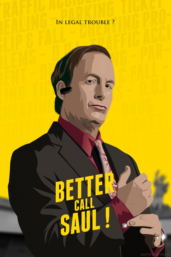 Better call Saul ! Canvas Print