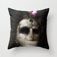 Flowerhead Throw Pillow