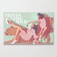 Prints Gone Wild Canvas Print