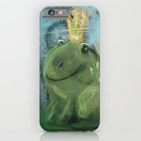 iPhone & iPod Case featuring Frog by GalaArt