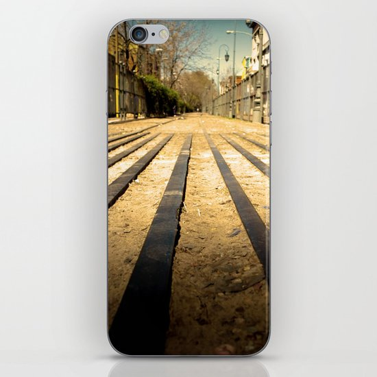 Train Line iPhone & iPod Skin
