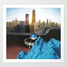Way To Blue - Omni Challenge #4 Art Print