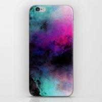 Neon Radial Dreams iPhone & iPod Skin
