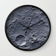 Moon Surface Wall Clock