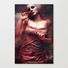Lividity Among The Dead Canvas Print