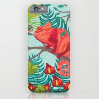 The Red Chameleon  iPhone 6 Slim Case