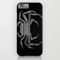 Crab (On Black) iPhone 6 Slim Case