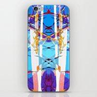 Colored Window iPhone & iPod Skin