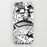 iPhone & iPod Case featuring THE MUTANT by SINAN SAUL