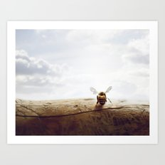 unbearable lightness of bee-ing Art Print