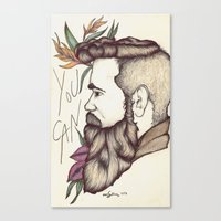 You Can Canvas Print