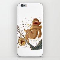 Carl Bear Vs. The Bees iPhone & iPod Skin