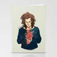 Roses On Your Hands Stationery Cards