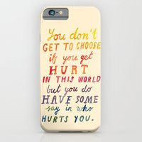 If You Get Hurt Poster iPhone 6 Slim Case