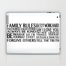 Family Rules 2 Laptop & iPad Skin