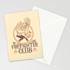 Firefighter Club Stationery Cards