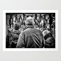 Which one should we get Dad ? Art Print